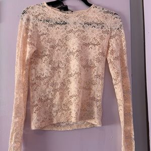 Forever 21 Lace Long Sleeve